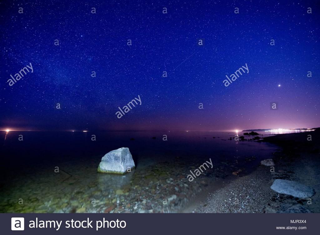 0 Sellin 5 Mai 2018 Ein Sternenhimmel Ber Der Ostsee Mit Der for measurements 1300 X 956