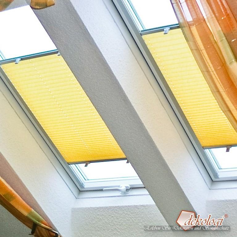 03521 Wei Plissees Fr Roto Dachfenster Dekologide for measurements 1000 X 1000
