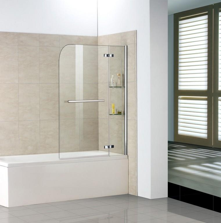 100x140 Cm Badewanne 2 Tlg Faltwand Duschwand Duschabtrennung H2s with dimensions 1586 X 1600