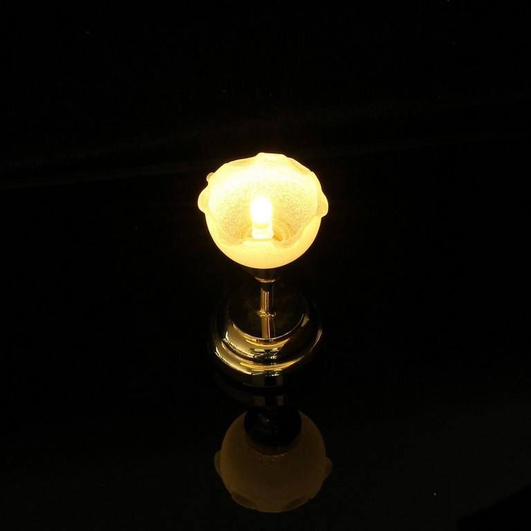 112 Mini Puppenhaus Miniatur Led Lampe Blume Form Stand Nachtlicht inside size 1200 X 1200