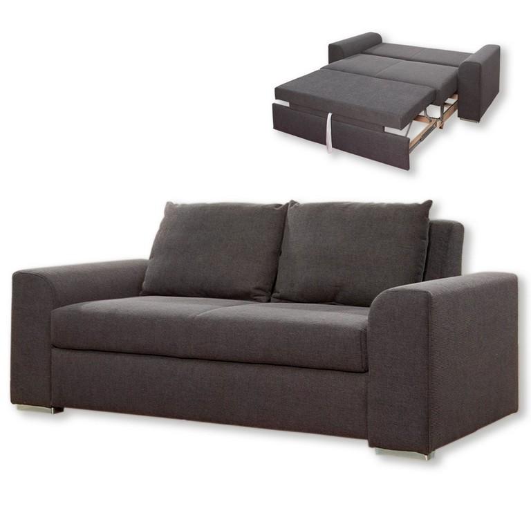 2 Sitzer Sofa Grau Mit Liegefunktion Schlafsofas Sofas for measurements 1600 X 1600