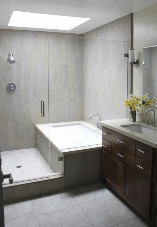 20 Ideen Fr Kleines Bad Design Platzsparende Badewanne throughout proportions 800 X 1152