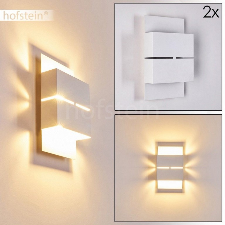 2er Set Led Aussen Wand Lampen Design Wei Veranda Hof Terrassen throughout sizing 1000 X 1000