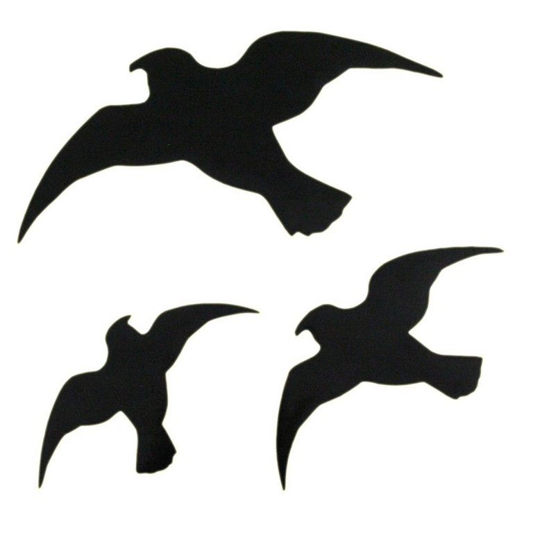 6st Vogel Silhouetten Fenster Aufkleber Fenstersticker Deko for size 1000 X 1000