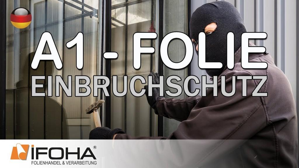 A1 Folie Schtzt Vor Einbruch Und Durchwurf In Fenstern Und Tren regarding measurements 1280 X 720
