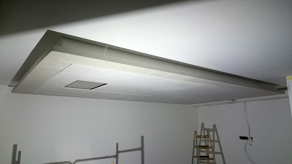 Abgehngte Decke Mit Indirekter Beleuchtung Lichtvouten Selber Machen intended for dimensions 2000 X 1125