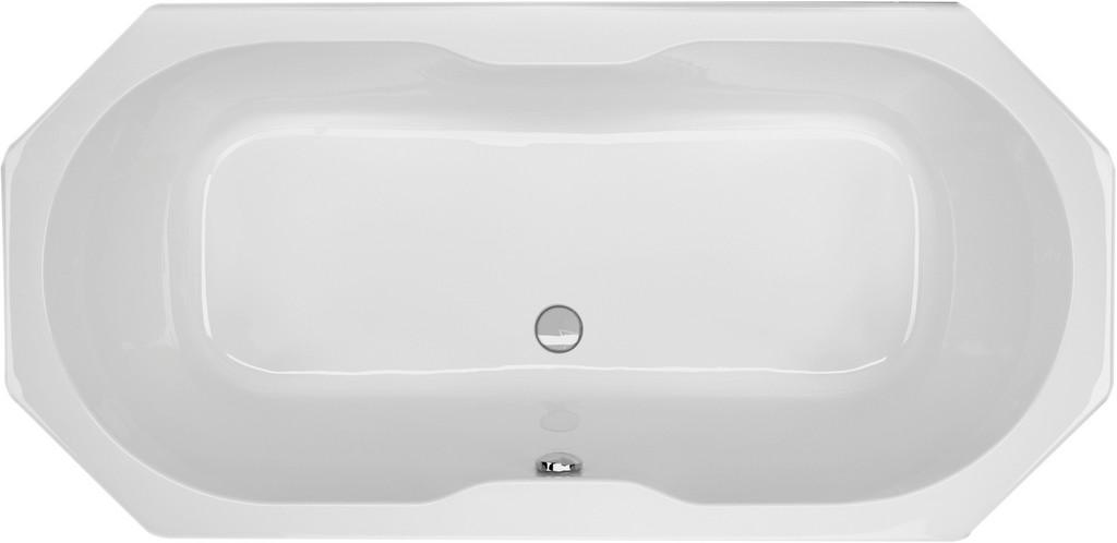 Achteck Badewanne Badshop Srig in size 1835 X 892