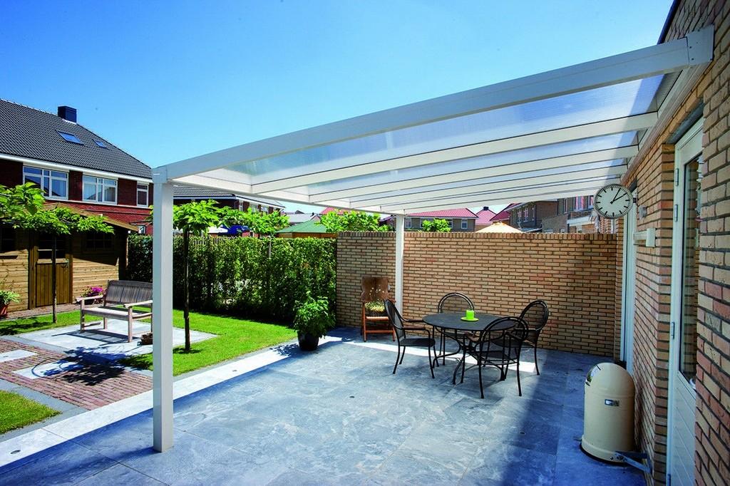 Alu Terrassenberdachung 4x2 Meter Vsg Glas 8 Mm Klar intended for dimensions 1181 X 787