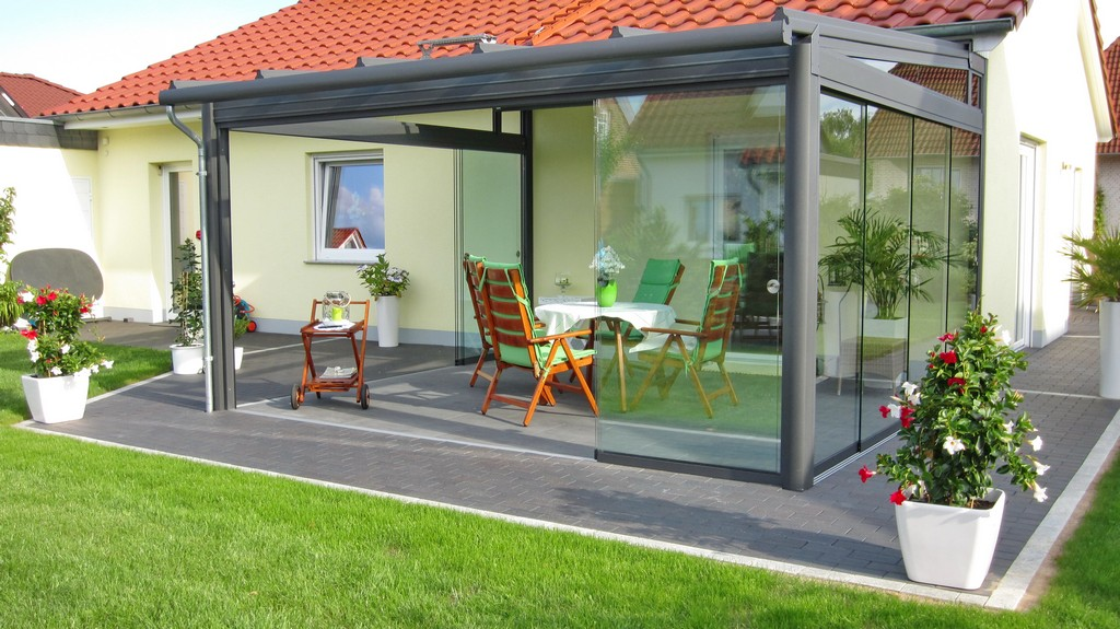 Aluminium Terrassendach pertaining to size 4000 X 2248