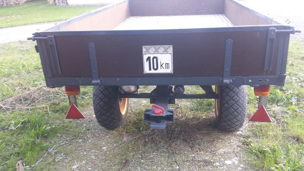 Anhnger Fr Traktor Gebremst Neu Restauriert Meiningen Biete with sizing 1280 X 720