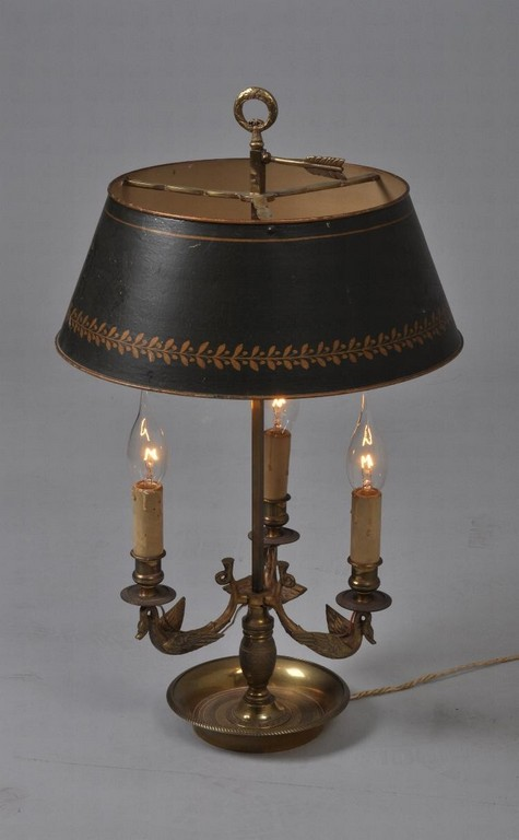 Antieke Bouillote Lamp In Empire Stijl Ca 1890 1900 Brons Met in proportions 750 X 1212
