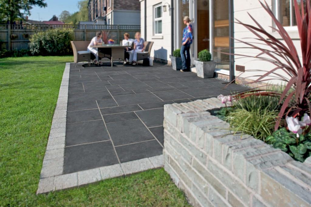 Auenbereich Fliesen Fr Den Garten Fr Fubden Aus Kalkstein intended for measurements 1200 X 800