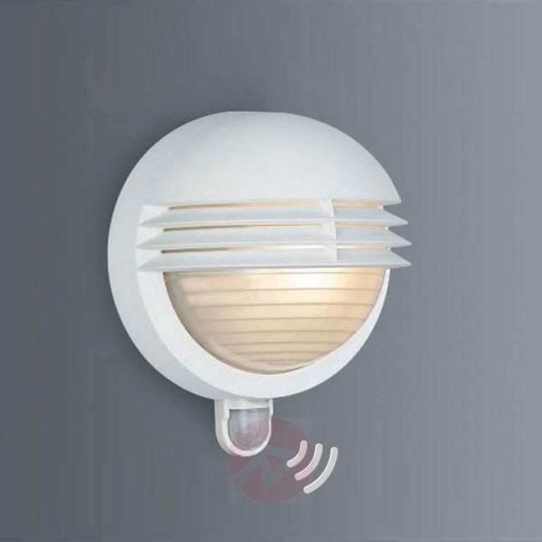 Auenwandleuchte Boston Mit Ir Sensor Wei Kaufen Lampenweltde within measurements 1800 X 1800