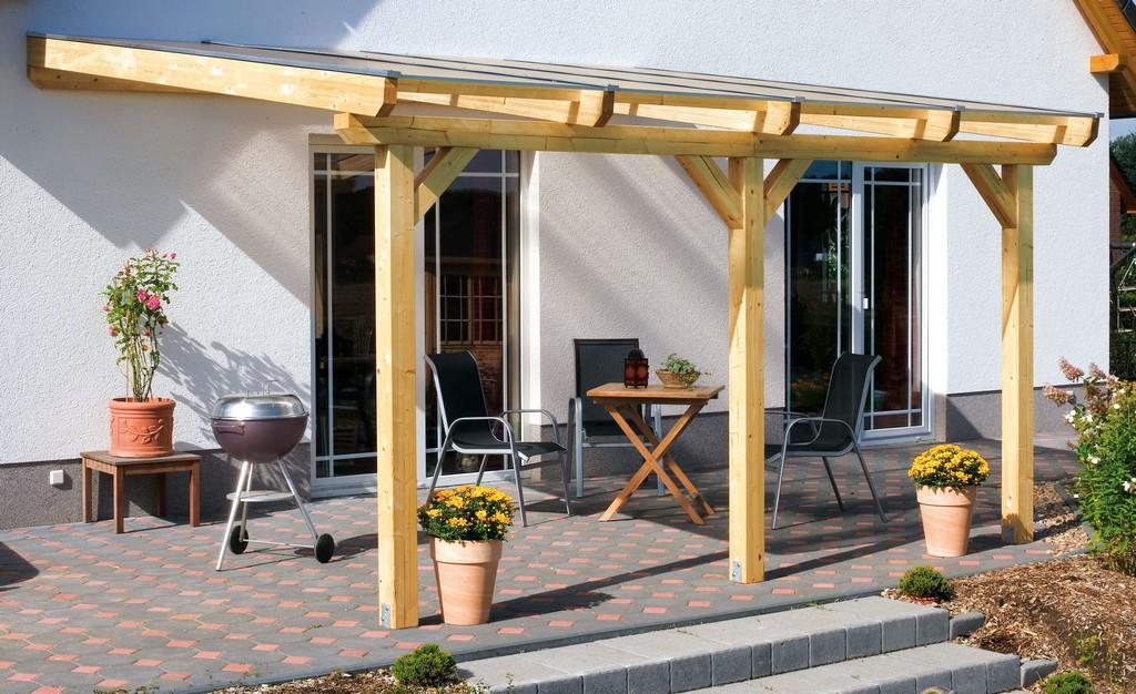 Aufbau Einer Leimholz Terrassenberdachung for dimensions 4200 X 2568