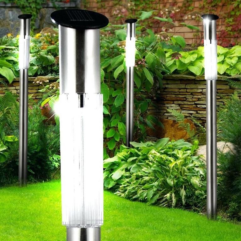 Aussenlampen Garten 8er Set Auaenlampen Solar Led Leuchten within size 1000 X 1000