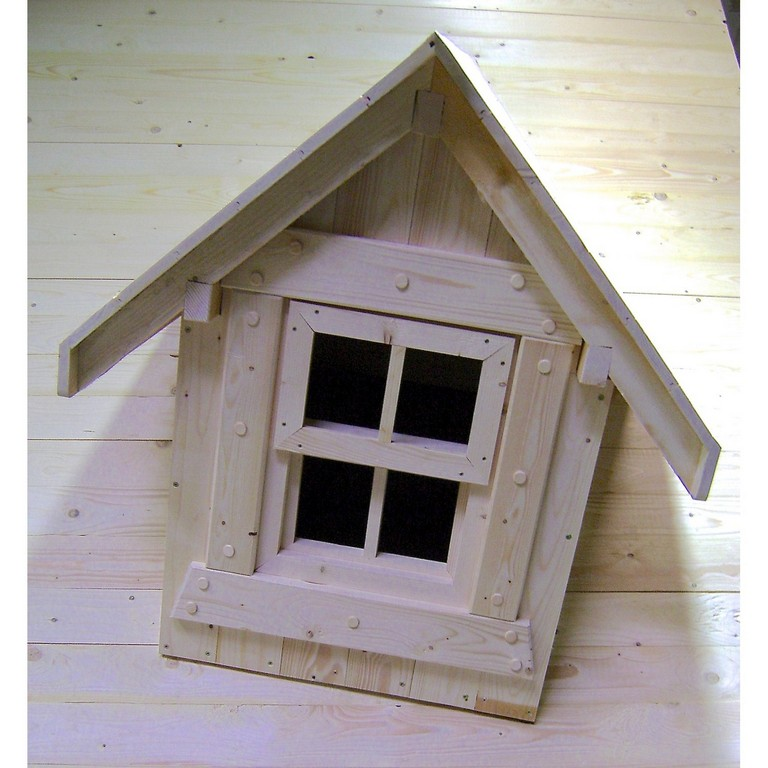 Ausstattungs Set Gaube Und Fenster Fr Holz Gartenhaus intended for dimensions 1500 X 1500