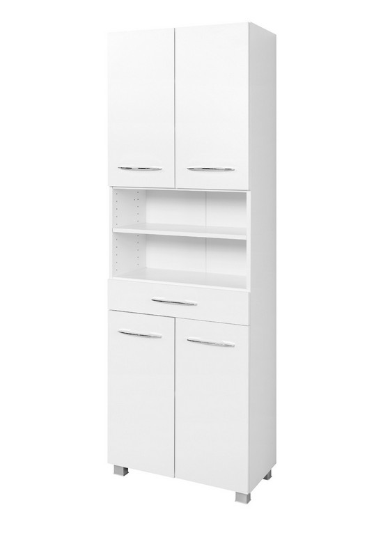 Bad Hochschrank Portofino 4 Trig 1 Schubkasten 60 Cm Breit throughout measurements 1200 X 1750