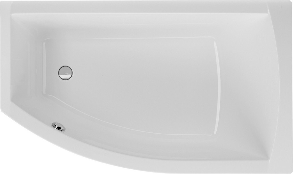 Badewanne Asymmetrisch 160 X 95 X 455 Cm Bodenlnge 1135 Cm pertaining to measurements 2436 X 1445