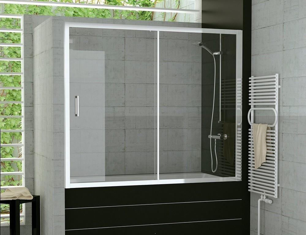 Badewanne Schiebewand 160 X 150 Cm Duschwand Schiebetr Glas in size 1181 X 908