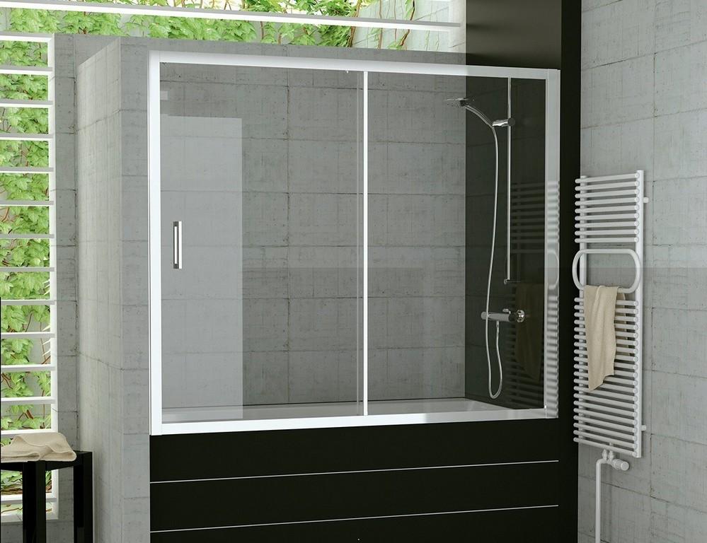 Badewanne Schiebewand 160 X 150 Cm Duschwand Schiebetr Glas inside proportions 1181 X 908