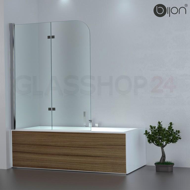 Badewannen Duschabtrennung Badewannenaufsatz Faltwand Glas Duschwand inside size 1500 X 1500