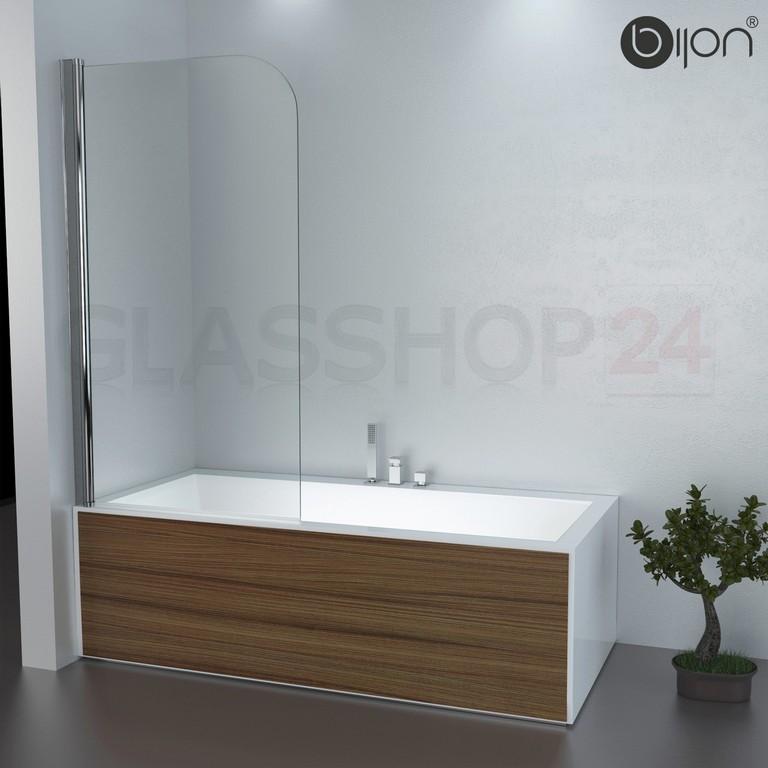 Badewannen Duschabtrennung Badewannenaufsatz Faltwand Glas Duschwand within measurements 1500 X 1500