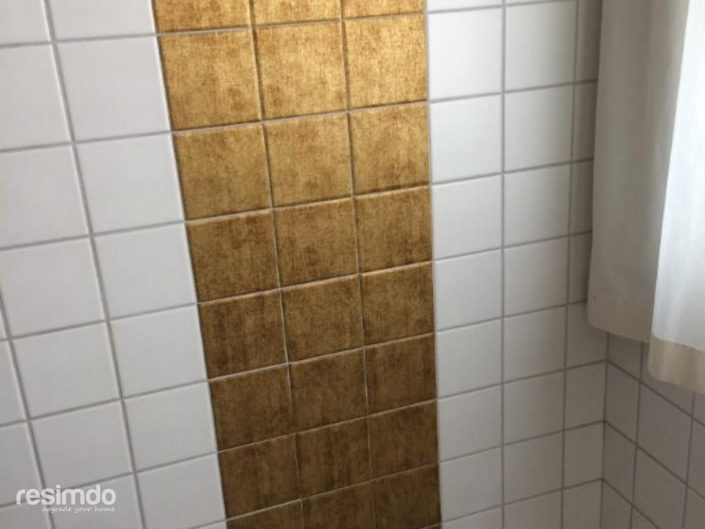 Badfliesen Verschnern Fliesenfolie Gold Resimdo for size 1280 X 960