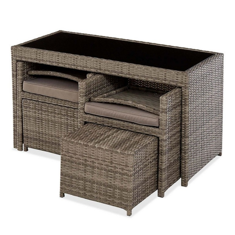 Balkon Gartenideen Attraktiv Balkonmobel Set Rattan Ist Luxus with sizing 1200 X 1200