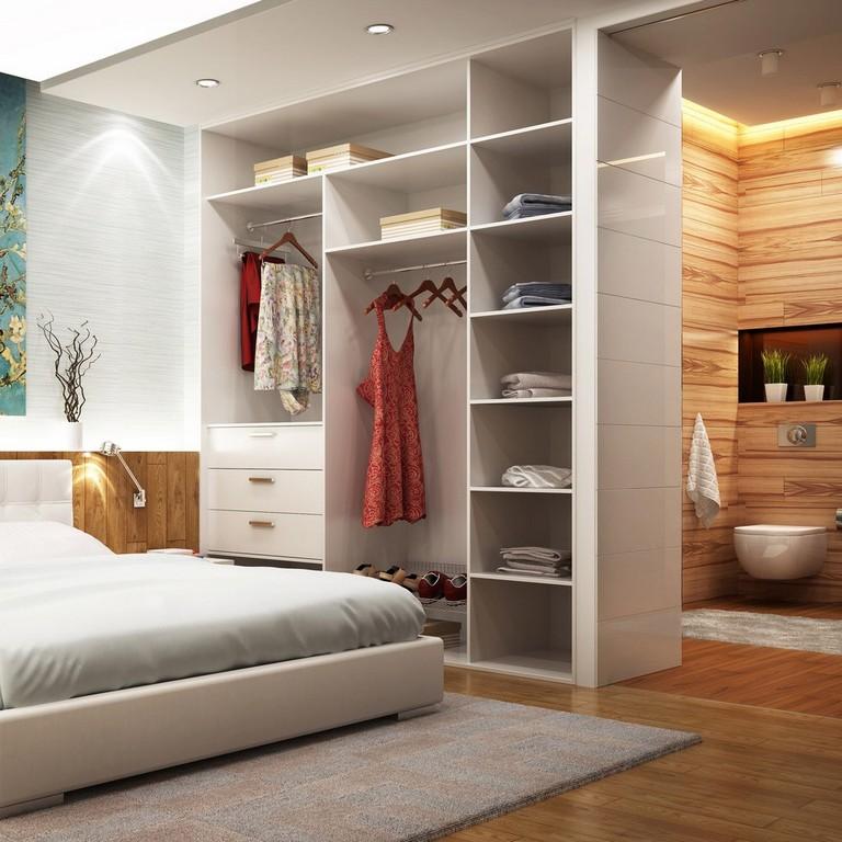Begehbarer Schrank Im Schlafzimmer Auf Ma Planen Schrankwerkde regarding size 1000 X 1000