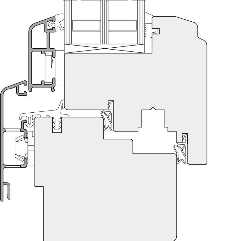 Bemerkenswerte Ideen Aluminium Fenster Dwg Und Blhende Profil intended for sizing 1920 X 1920