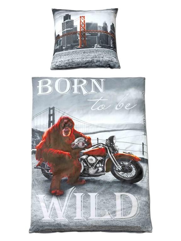 Bettwsche Born To Be Wild Bt 135x200 Cm In Bunt Baumwolle Und intended for sizing 2250 X 3000