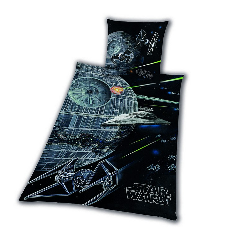 Bettwsche Glatt Star Wars 8 Todesstern Rey Finn Tico Yoda 155 X 220 pertaining to dimensions 945 X 1002