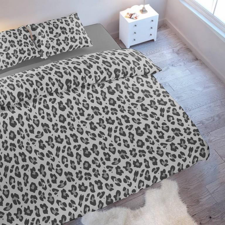 Bettwsche Leopard Grau Nightlifeliving with regard to dimensions 1024 X 1024