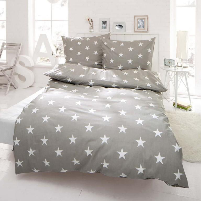 Bettwsche Sterne Mit Reiverschluss Baumwoll Renforc for dimensions 2000 X 2000