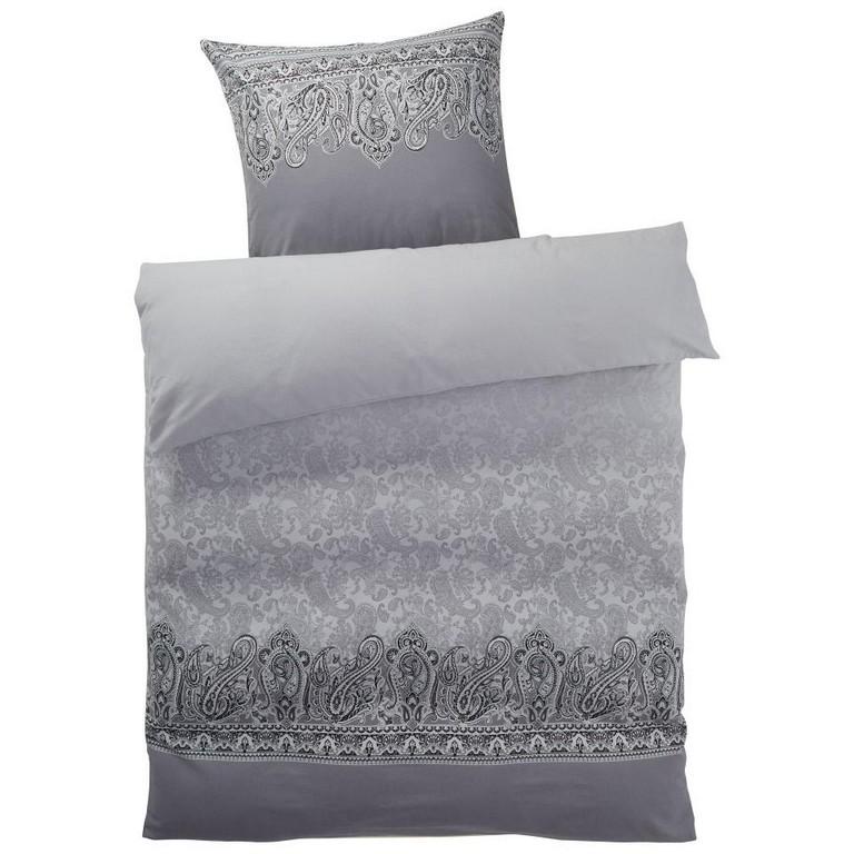 Biber Bettwsche Persis 140x200 Grau Dnisches Bettenlager in size 960 X 960
