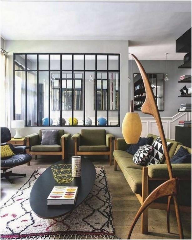 Bild Vintage Style Mbel Wohnzimmer 50s Skandinavische Lapazca inside proportions 819 X 1024
