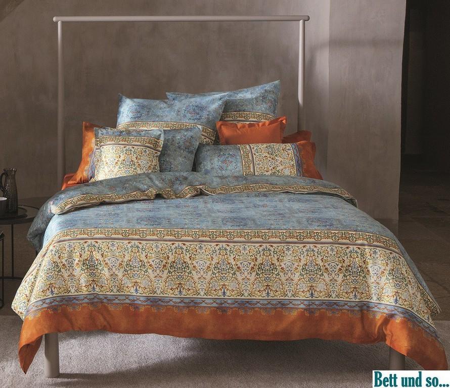 Blau V3 Bettwsche Luini Im Ma 155x220 Von Bassetti Bett Und So throughout proportions 1000 X 863