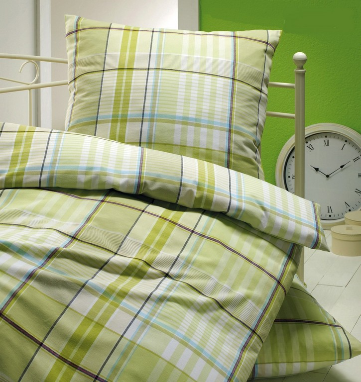 Brennet Edel Flanell Bettwsche Madison 135x200 155x220 Cm In Grn inside size 1500 X 1590