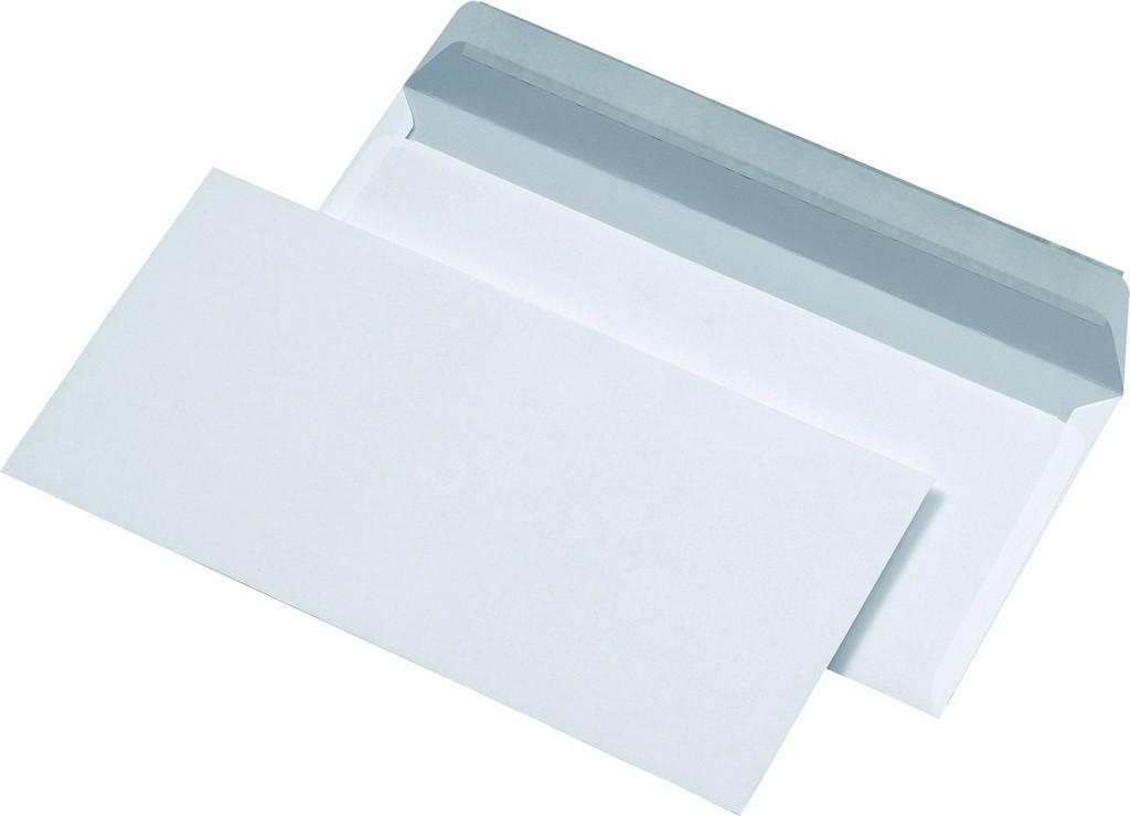 Briefumschlge Din Lang Ohne Fenster Weiss Paper Markt Broartikel with measurements 1837 X 1326