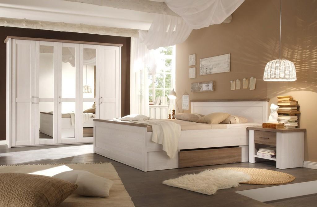 Brillante Inspiration Wandfarbe Schlafzimmer Weisse Mbel Und inside size 2896 X 1896