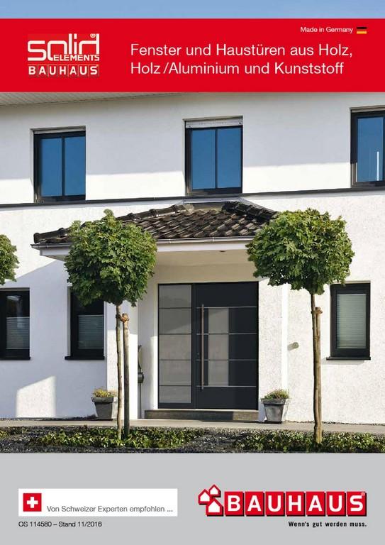 Broschren Zum Thema Fenster Tren Bauhaus Schweiz intended for size 1100 X 1555
