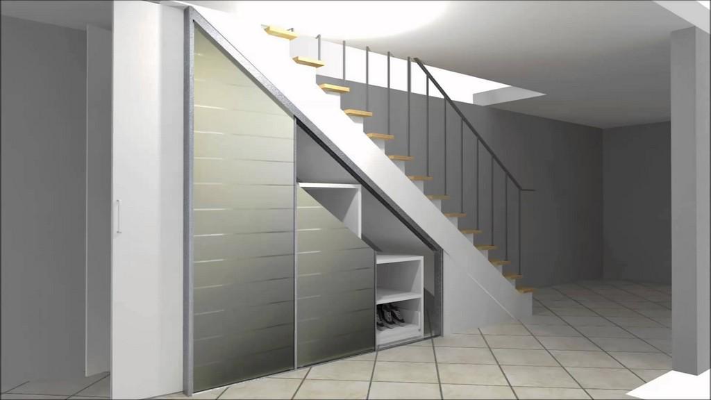 Cabinet Einbauschrank Zur Nutzung Von Stauraum Unter Einer Treppe inside measurements 1920 X 1080
