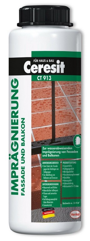 Ceresit Balkon Und Terreassen Imprgnierung 20 Liter Cib2 Baudi intended for measurements 562 X 1500
