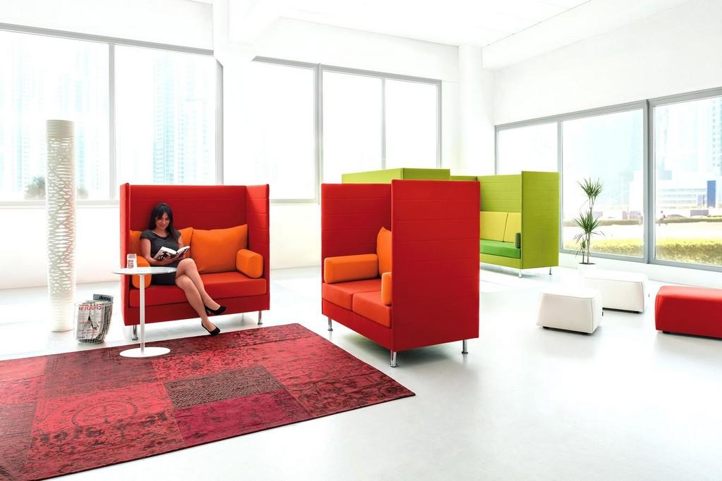 Cocoon Mobel Dauphin Mabel Open Space Ba 1 4 Ro Office Kokon Schweiz intended for size 2000 X 1334