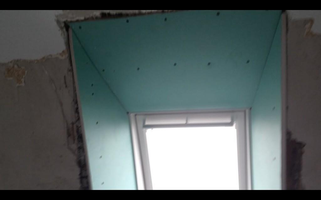 Dachfenster Mit Gipskarton Velux Fenster Verkleiden Innenverkleidung within measurements 1280 X 800