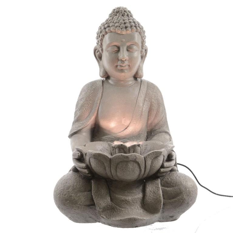 Der Buddha Brunnen Mit Led Beleuchtung Ist Auch Fr Den Auenbereich with dimensions 2390 X 2390