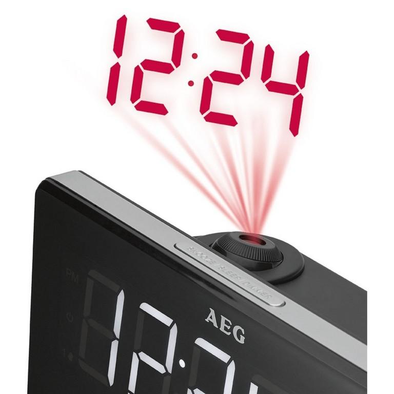 Design Radio Wecker Schlafzimmer Uhr Datum Temperatur Wetter intended for dimensions 1000 X 1000
