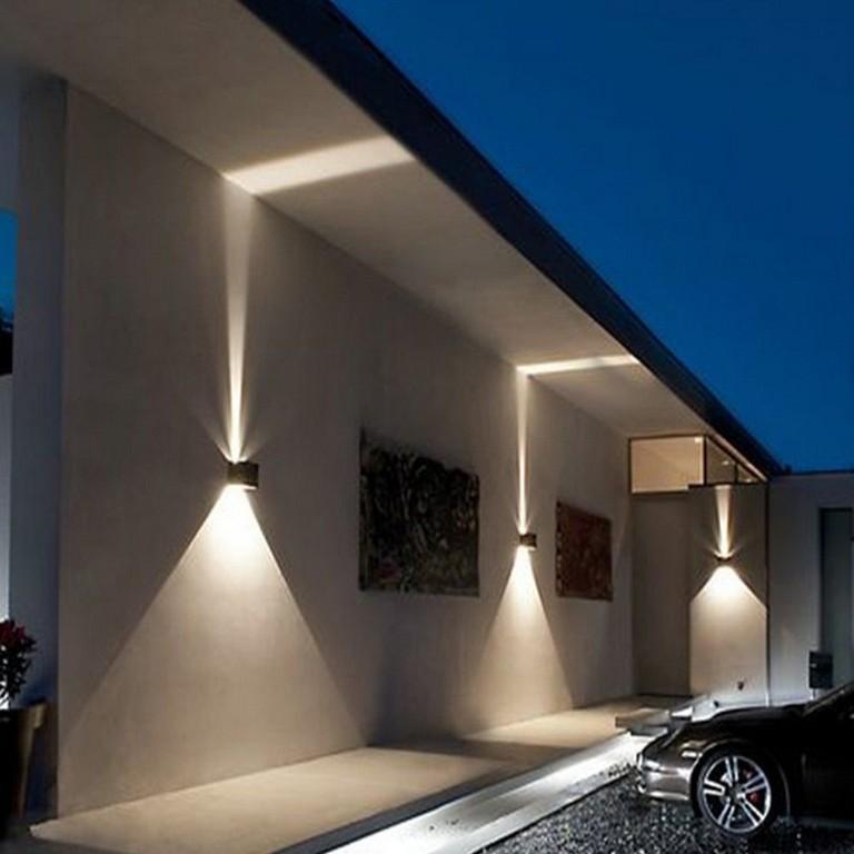 Details Zu Led Wandleuchte Wandlampe Gartenlampe Wasserdicht in proportions 1000 X 1000