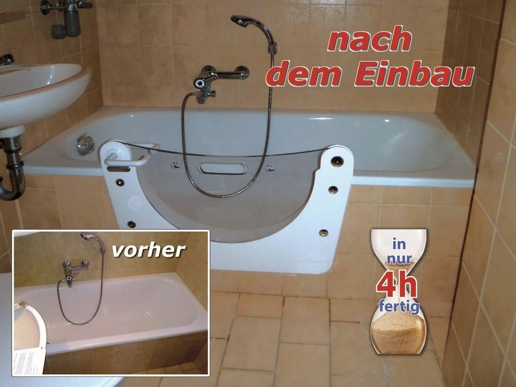 Die Badewannentr Fr Bestehende Badewannen Renobad 027746314 with regard to size 1280 X 960