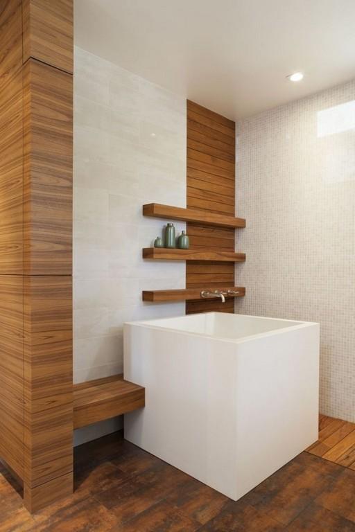 Die Japanische Ofuro Badewanne Aus Holz Kann Heilen Bad regarding proportions 750 X 1125